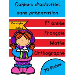 Cahiers de janvier - 1re année