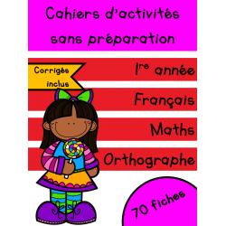 Cahiers de février - 1re année
