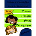 Cahiers de mai - 2e année