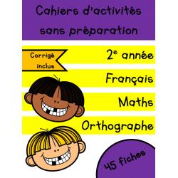 Cahiers de juin - 2e année