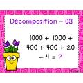 Décomposition de nombres - Cartes à tâches