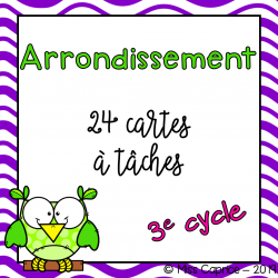 Arrondissement - 3e cycle