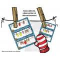 La corde à linge aux mitaines