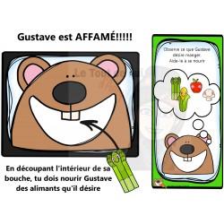 Gustave est affamé