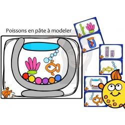 Pâte à modeler POISSONS