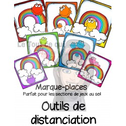 Marque-places ''Distanciation''