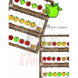 Suites logiques pommes