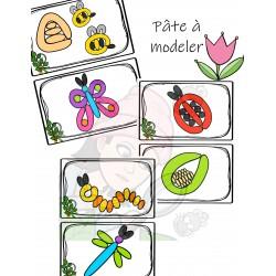 Pâte à modeler Insectes