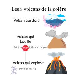 Les 3 volcans de la colères