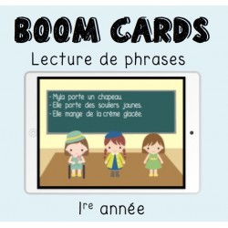 Boom Cards lecture (1re année)