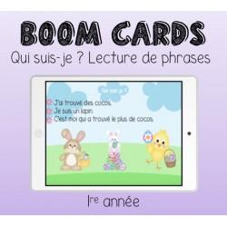 Boom Cards - Qui suis-je (Pâques)