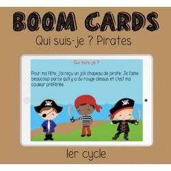 Boom Cards - Lecture de pirates