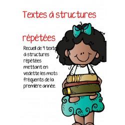 Livrets de lectures à structures répétées