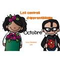 Centres d'apprentissage -octobre