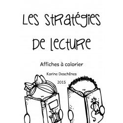 Affiches- Les stratégies de lecture