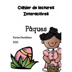 Cahier de lectures interactives- Pâques