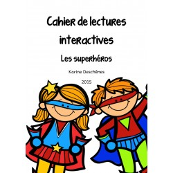 Lectures interactives - Les superhéros