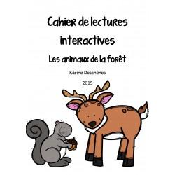Lectures interactives- Les animaux de la forêt
