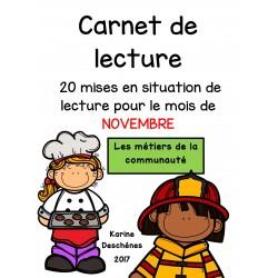 Carnet de lecture-Novembre