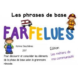 """Phrases farfelues-Édition """"Les métiers"""""""