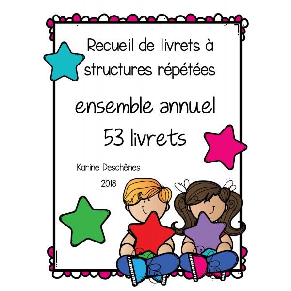 Recueil de lecture-Ensemble annuel