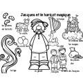 Murale pour le mur de mots: Les contes classiques