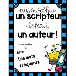 Scripteur: les mots fréquents