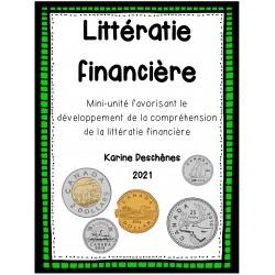 Littératie financière: l'argent canadien