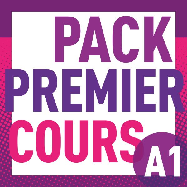 PACK PREMIER COURS A1