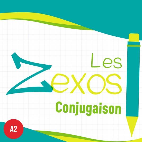 Les Zexos : conjugaison A2