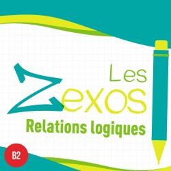 Les Zexos : relations logiques B2