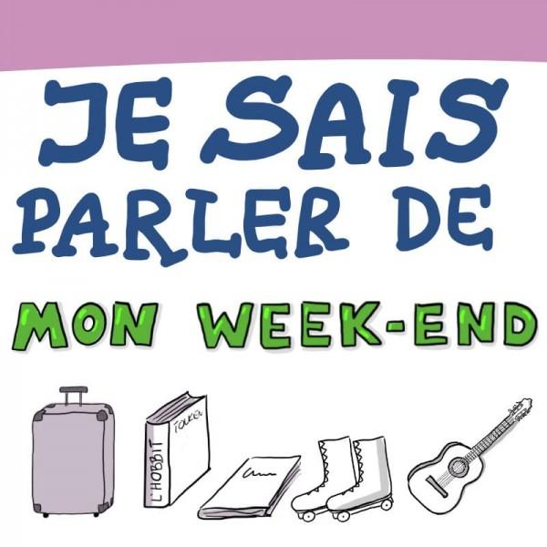 Sketchnote : je sais parler du week-end