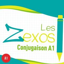 Les Zexos : conjugaison A1