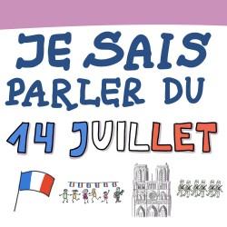 Sketchnote : je sais parler du 14 juillet