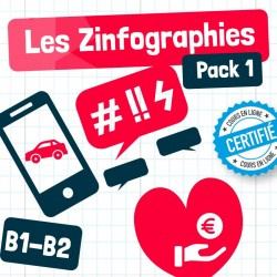 Les Zinfographies – Pack 1 (B1-B2)