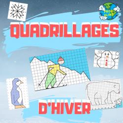 Quadrillages d'hiver (Dessin et géométrie)