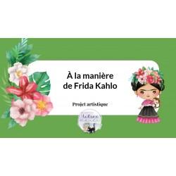 À la manière de Frida Kahlo