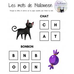 Les mots de l'Halloween