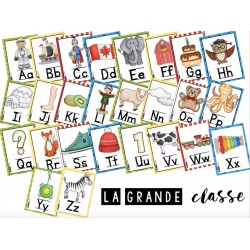 Alphabet avec images