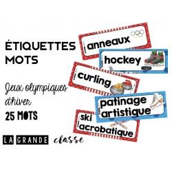 Étiquettes mots Jeux olympiques d'hiver