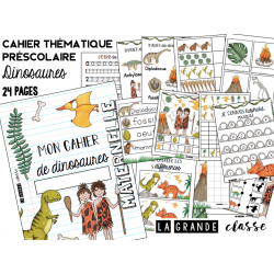 Cahier thématique dinosaures