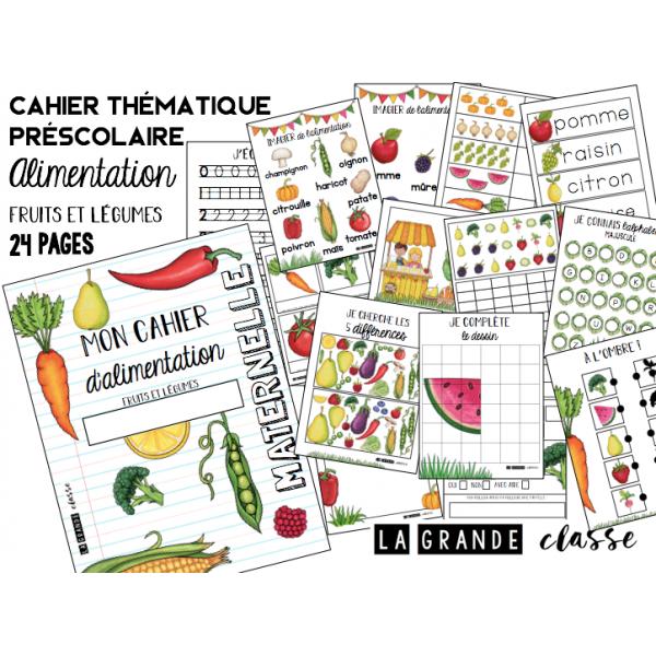 Cahier thématique alimentationpréscolaire