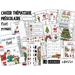 Cahier Noël préscolaire