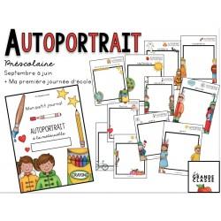 Journal : Autoportrait à la maternelle