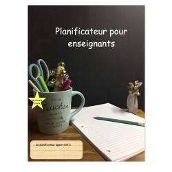 Planificateur 2020-2021 Maternelle Jardin