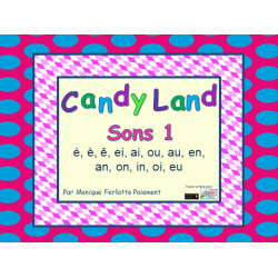 Cartes Candyland - Sons 1