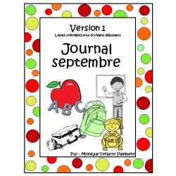 Journal septembre