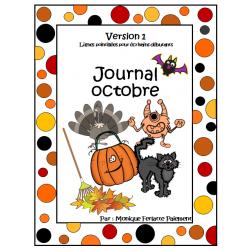 Journal octobre (avec Halloween)