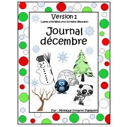 Journal décembre (neutre)