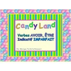 Cartes Candy Land Avoir et Être Ind. Imparfait